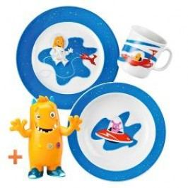 Thomas Sunny Day - Happy Kids Children's tableware set -'Tom, the astronaut', 3 pcs
