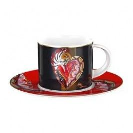 Königlich Tettau Artist-Collection Gigi Banini Coffee Cup 2 pcs