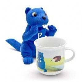 Porzellantreff.de by Arzberg Porzell and his Friends Set for Children Mug + Plush Toy 2 pcs