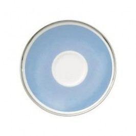Villeroy & Boch Anmut My Colour Sky Blue Mocha / Espresso Saucer 12 cm