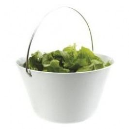 Eva Solo Serving Bowl with handle white 4,0 L
