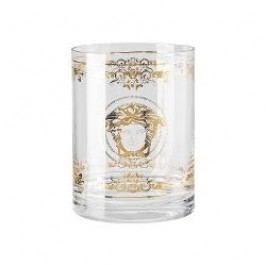 Rosenthal Versace Medusa Gala Glass vase/ candle holder, 16 cm