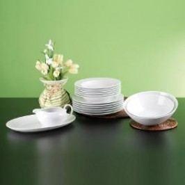 Seltmann Weiden Rondo white Dinnerware 16-piece set