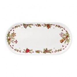 Hutschenreuther Gift Series Christmas Delicacies Stollen Plate size: 41 x 20 cm