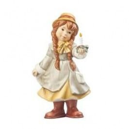 Goebel A Winter Tale Martha with Candle 14 cm