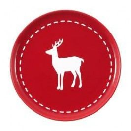 Friesland Happymix Christmas Red Breakfast plate Deer 19 cm