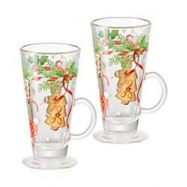 Hutschenreuther Gift Series Christmas Treats Mulled Wine Glasses Set of 2 pcs