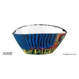 Königlich Tettau Hundertwasser - Magischer Garten Bowl, colour: blue, 17 cm