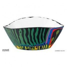 Königlich Tettau Hundertwasser - Magischer Garten Bowl, colour: green, 29 cm