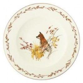 Königlich Tettau Achat Diamant - Jagd Dining plate 'Fuchs', 28 cm