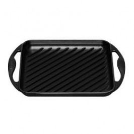 Le Creuset Grill Pans and Griddles Grill Plate Quadratic 24 x 24 cm, black