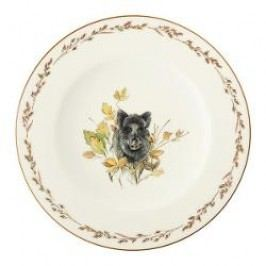 Königlich Tettau Achat Diamant - Jagd Breakfast plate 'Wildschwein', 0.30 L