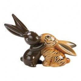 Goebel Bunny de luxe - Animal Bunnies 'Tiger' Bunny in Love Figurine 17 cm