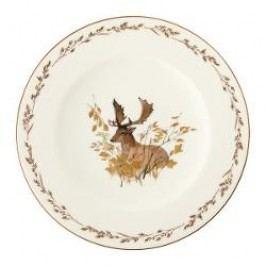 Königlich Tettau Achat Diamant - Jagd Breakfast plate 'Damhirsch', 22.5 cm