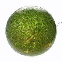 Formano Lamps Illuminated Glass Deco Ball green 35 cm