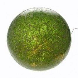 Formano Lamps Illuminated Glass Deco Ball green 35 cm