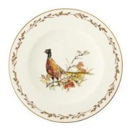 Königlich Tettau Achat Diamant - Jagd Breakfast plate 'Fasan', 22.5 cm