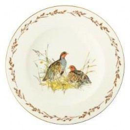 Königlich Tettau Achat Diamant - Jagd Dining plate 'Rebhuhn', 28 cm