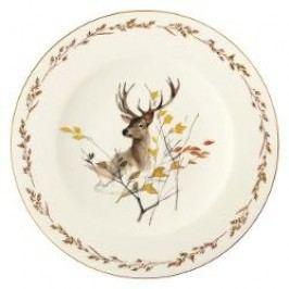 Königlich Tettau Achat Diamant - Jagd Dining plate 'Rothirsch', 28 cm