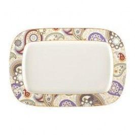 Königlich Tettau Agate Diamond - Paisley Mystic Butter Plate angular 24 cm