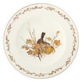 Königlich Tettau Achat Diamant - Jagd Dining plate 'Hase', 28 cm