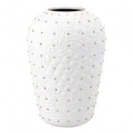 Rosenthal Versace Vanitas white-gold Vase 31 cm