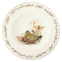 Königlich Tettau Achat Diamant - Jagd Dining plate 'Schnepfe', 28 cm