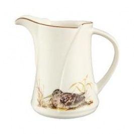 Königlich Tettau Achat Diamant - Jagd Creamer/milk jug for 6 pers.'Schnepfe', 0.16 L