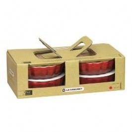 Le Creuset Pottery Fluted Flan Dish Fluted Flan Dish Set of 4 pcs 11 cm / 0,2 L