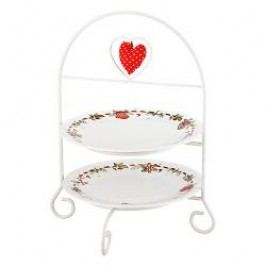 Hutschenreuther Gift Series Christmas Treats Etagere Frame for 2 Plates h: 35 cm