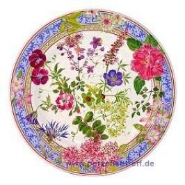 Gien Millefleurs Breakfast Plate 21.8 cm