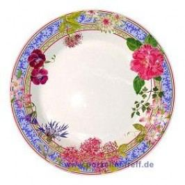 Gien Millefleurs Soup Plate 23 cm