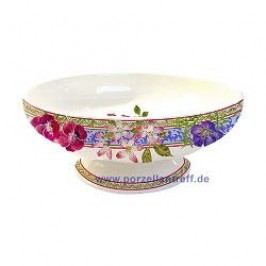 Gien Millefleurs Bowl Footed 19.5 cm