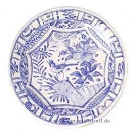 Gien Oiseau Bleu monochrome Dinner Plate 27.4 cm