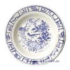 Gien Oiseau Bleu monochrome Soup Plate approx. 22 cm