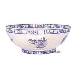 Gien Oiseau Bleu monochrome Salad Bowl 23 cm