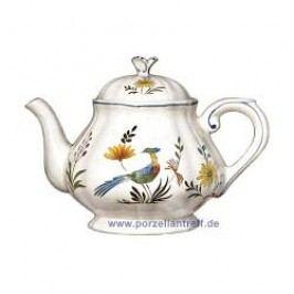 Gien Oiseaux Paradis Tea Pot 1.25 l