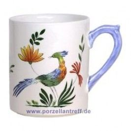 Gien Oiseaux Paradis Mug with Handle 0.30 l