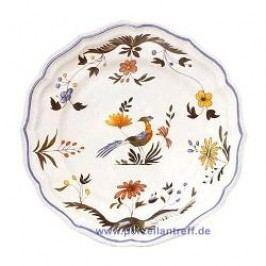 Gien Oiseaux Paradis Dinner Plate 26 cm