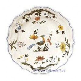 Gien Oiseaux Paradis Dinner Plate 25.2 cm