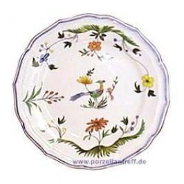 Gien Oiseaux Paradis Bread and Butter Plate 16.5 cm