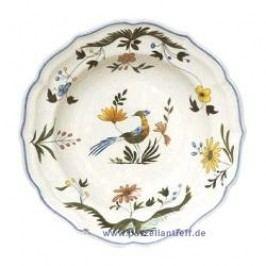 Gien Oiseaux Paradis Soup Plate 22.5 cm