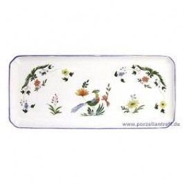Gien Oiseaux Paradis King Cake Plate 38 x 14.5 cm