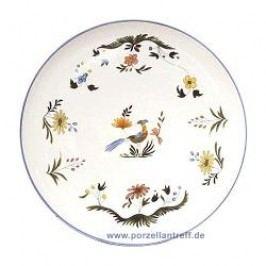 Gien Oiseaux Paradis Cake Platter 32 cm