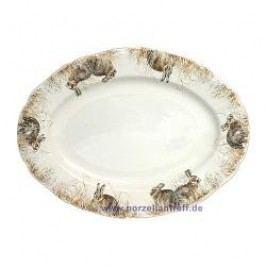 Gien Sologne Oval Platter 39.3 x 29 cm