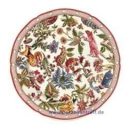 Gien Jardin Imaginaire Bread and Butter Plate 19.8 cm