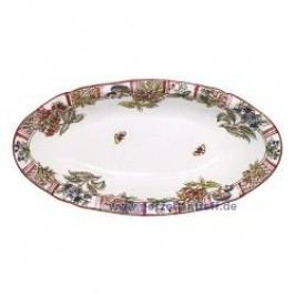 Gien Jardin Imaginaire Side Dish 27.8 x 14.2 cm