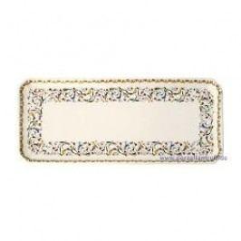 Gien Toscana King Cake Plate 38 x 14.5 cm
