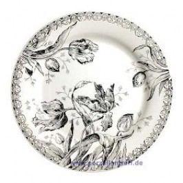 Gien Tulipes Noires Dinner Plate 27.4 cm