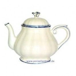 Gien Filets Bleus Tea Pot 1.25 l
